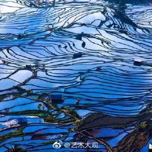 中国梯田之美